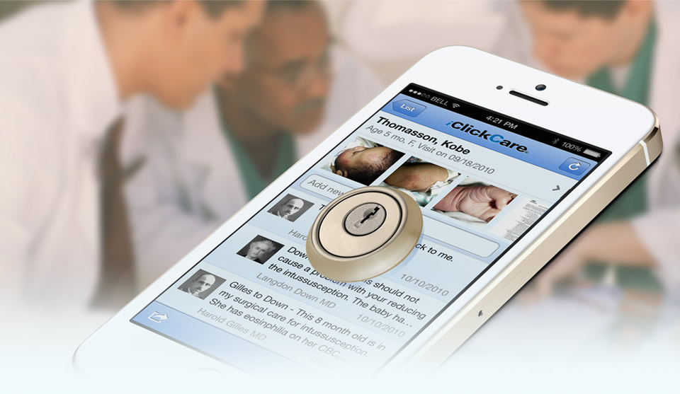 iClickCare is a solution to HIPAA security and the BYOD movement